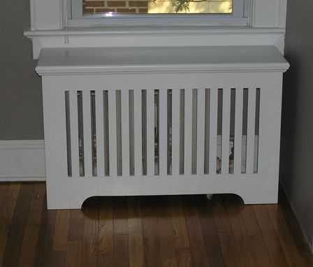 Custom Made Mission Radiator Cover