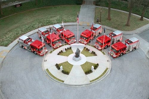 Custom Made 9/11 Dekalb Firefighters Memorial