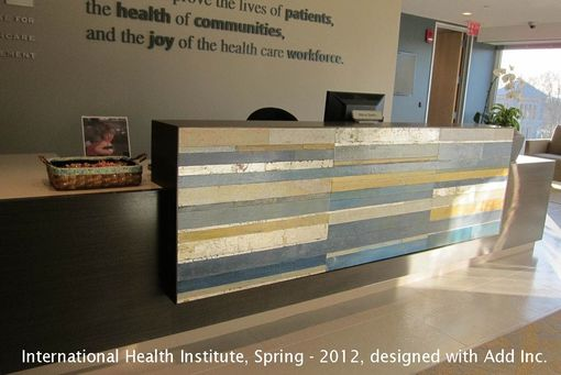 Custom Made Painted Boards At The International Health Institute