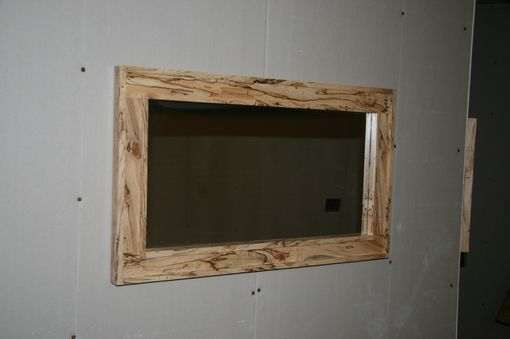 Custom Made Spalted Maple Mirror
