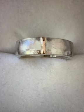 Custom Made 8mm Brushed Platinum Band