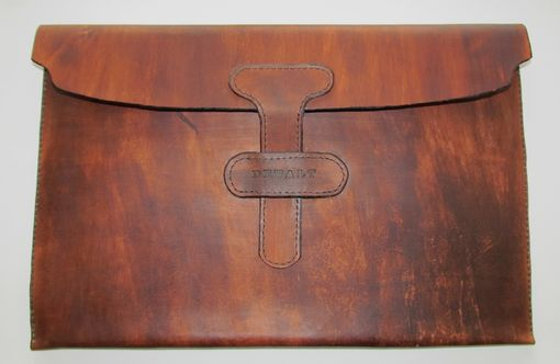 Custom Made Leather Portfolio With Name