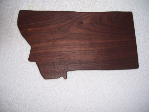Custom Made Montana Walnut Cutting Board