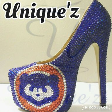 Custom Made Chicago Cubs Heels (2016 World Series Champions)