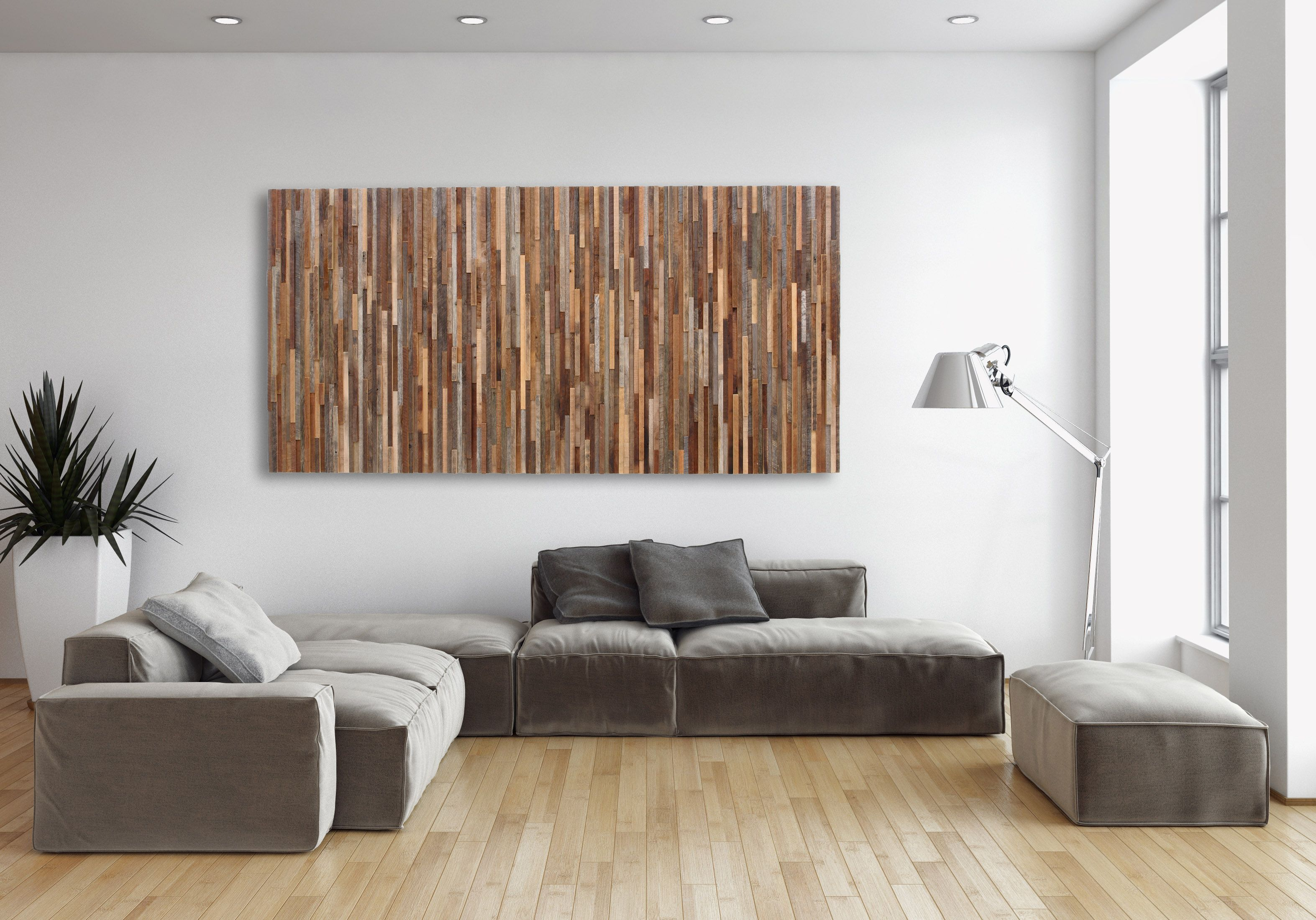 Reclaimed wood wall living room - Reclaimed Wood Wall Art Made Of Old Barnwood Different Sizes Available