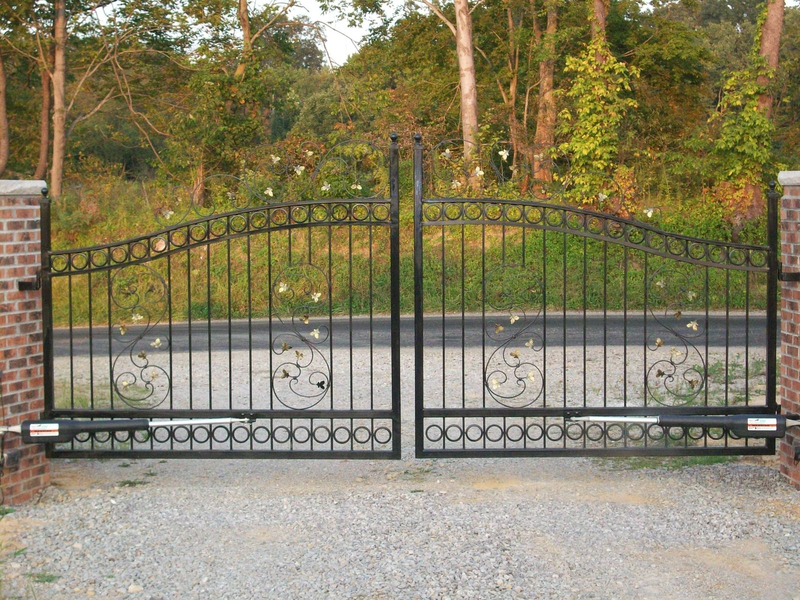 Custom Designed Gate Manufacturers: Custom Made Driveway Gates By The Forge At Cedar Hill