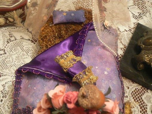 Custom Made Princess Fairy Bed In Purple