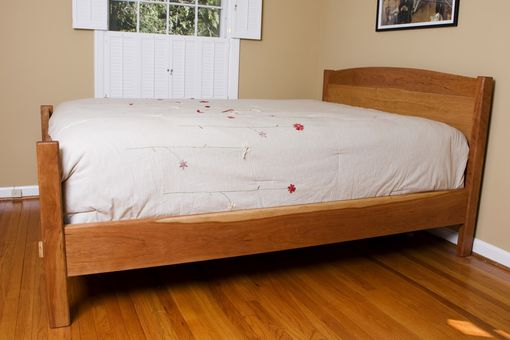 Custom Made Curly Cherry Bed