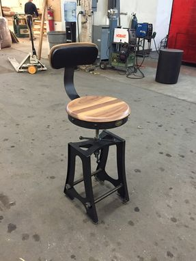 Custom Made A Frame Bar Chair