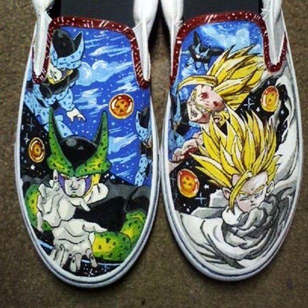 Handmade Dragonball Z Custom Shoes by StarvCustoms CustomMadecom