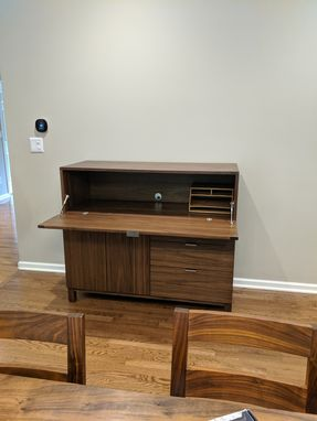 Custom Made Combo Desk And Dining Room Sideboard