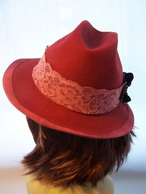 Custom Made Ruddy Red Fedora