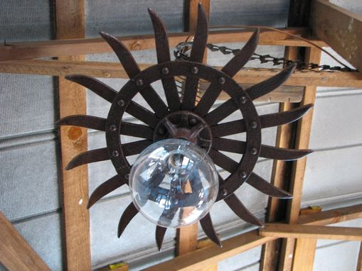 Custom Made Industrial Pendant Light