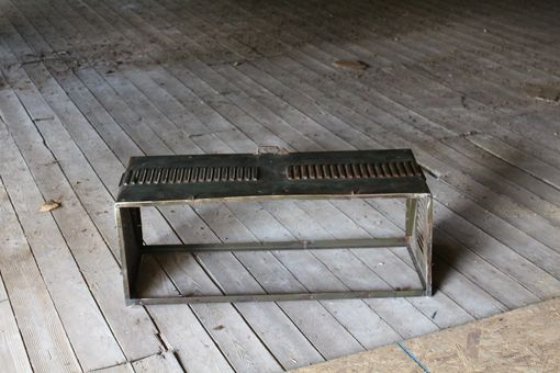 Custom Made Old Locker Door Bench/Table