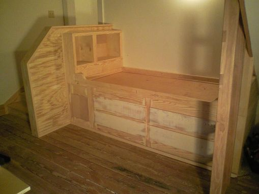 Custom Made Built-In Day Bed