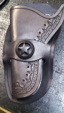 Custom Made Gunslinger Motorcycle Seat