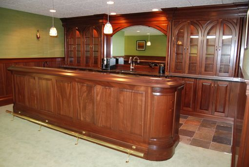 Custom Made Bar Unit