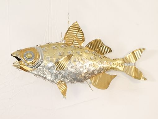 Custom Made Perch - Fish Sculpture