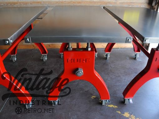 Custom Made Mgm &Amp; Monte Carlo In Vegas - Bar Height Table, Stools, Sideboard