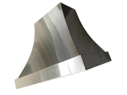 Custom Made #20 Custom Brushed Stainless Steel Range Hood