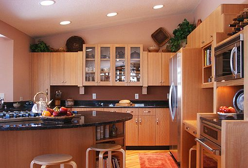 Custom Made Custom Anegre Kitchen