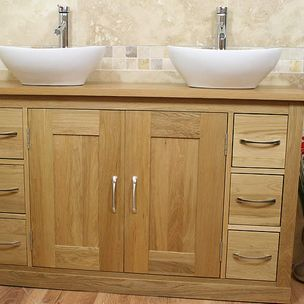 double bathroom vanity by