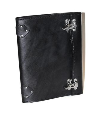 Custom Made Refillable Journal Notebook In Leather