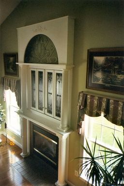 Custom Made Fireplace Mantle Surround