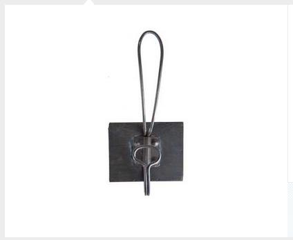 Black Single Retro Iron Wall Hook