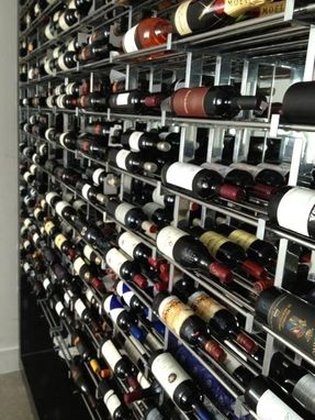 Custom Made Wine Rack/Bottle Display