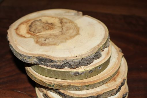 Custom Made Colorado Aspen Coasters - Set Of 6