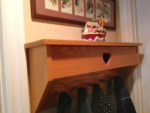 Custom Made Mitten Box Coat Hook