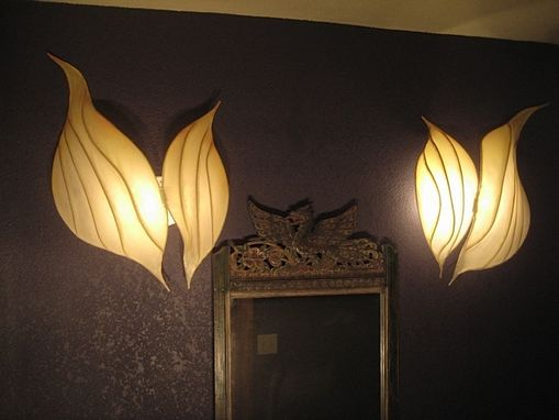 Custom Made Twin Sconces