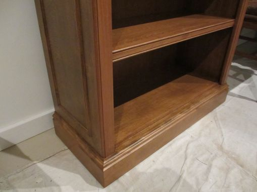 Custom Made Traditional Birch Bookcase