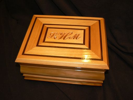 Custom Made Personalized Jewelry Box
