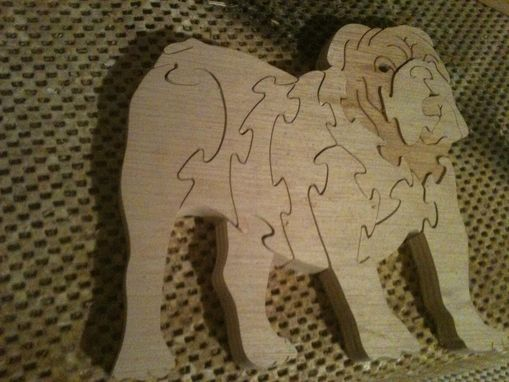 Custom Made Dog Puzzles