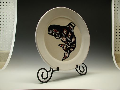 Custom Made Orca Whale Serving Platter