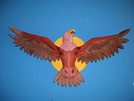 Custom Made Longhorn Eagle
