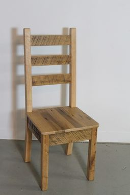 Custom Made 100% Oak Chairs From Reclaimed Barn Wood