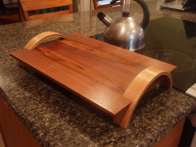 hand crafted serving tray by woodendeavor llc. Black Bedroom Furniture Sets. Home Design Ideas