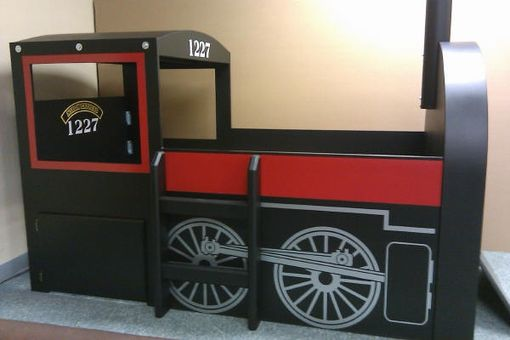 Custom Made Train Bed