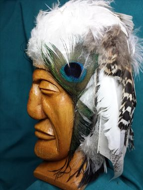 Custom Made Chief White Feather