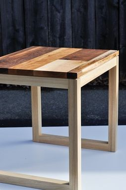 "Custom Made ""Leftovers"" Side Table"