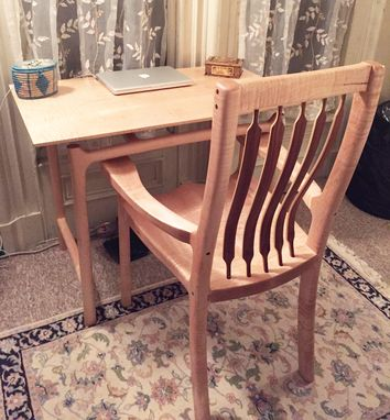 Custom Made Office Desk And Chair Set