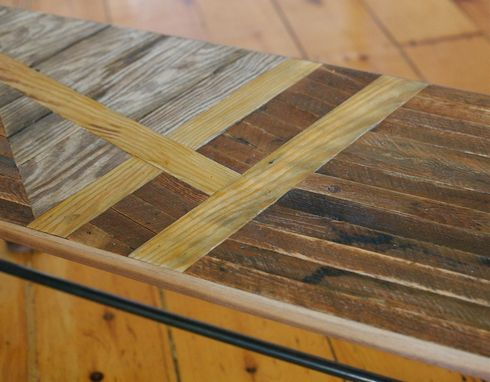 Custom Made Sail Boat Bench 2