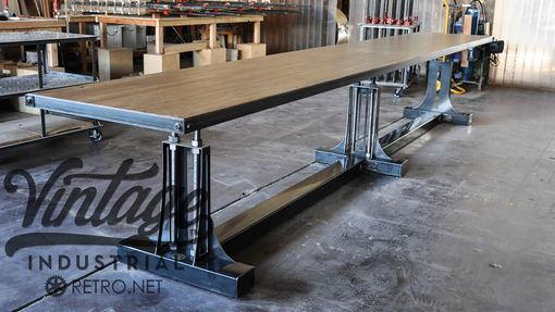 Custom Made Post Industrial Bar Table