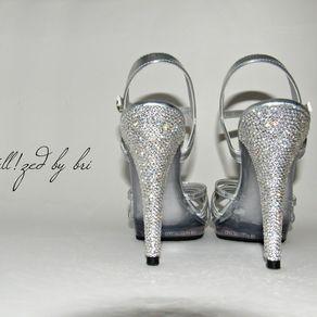 11ebfe5fa74 Crystallized Stiletto Heels Made With Swarovski Crystals - Heels Only