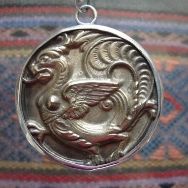Custom Made Dragon Coin Medallion