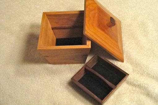 Custom Made Cherry Stash Box