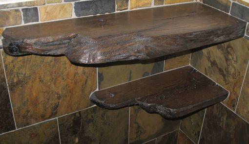 Custom Rustic Bathroom Vanity Countertop - Reclaimed Barnwood by ...
